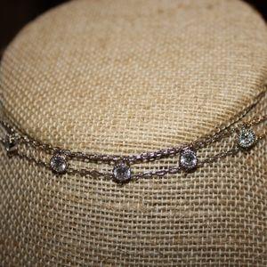 Petits Bijoux Station Choker Necklace